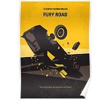 No051 My Mad Max 4 Fury Road minimal movie poster Poster