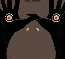 No061 My Pans Labyrinth minimal movie poster by JinYong