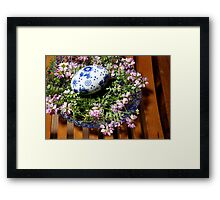 bowl of beauty Framed Print