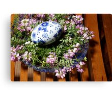 bowl of beauty Canvas Print