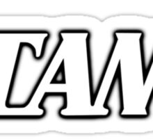Tama White Sticker
