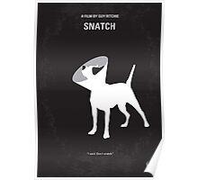 No079 My Snatch minimal movie poster Poster