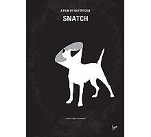 No079 My Snatch minimal movie poster Photographic Print