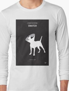 No079 My Snatch minimal movie poster Long Sleeve T-Shirt