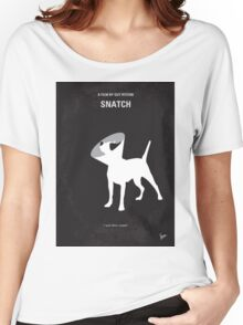 No079 My Snatch minimal movie poster Women's Relaxed Fit T-Shirt