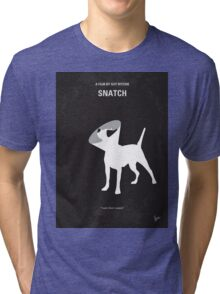 No079 My Snatch minimal movie poster Tri-blend T-Shirt