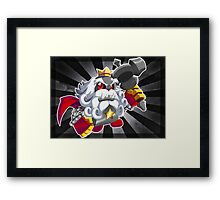 Super Mario RPG: Smithy Framed Print