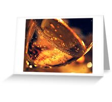 Raise your glasses Greeting Card