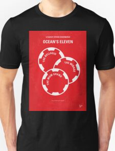No056 My Oceans 11 minimal movie poster Unisex T-Shirt