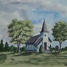 Chapel In Summer by Charlotte  Blanchard