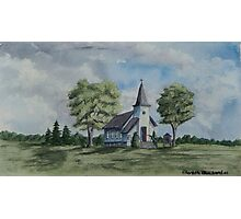 Chapel In Summer Photographic Print