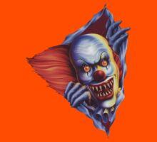 Creepy Clown (Thunderdome) Kids Tee