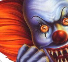 Creepy Clown (Thunderdome) Sticker