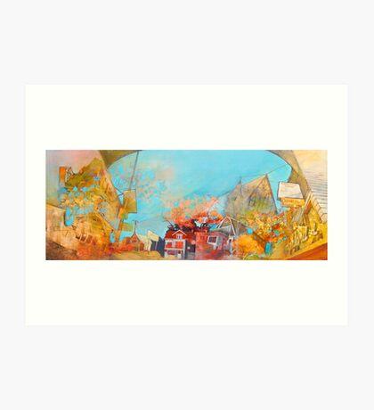 """54th and Vliet""  Art Print"