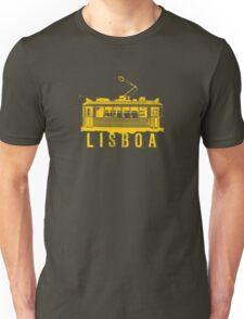 Lisboa yellow Unisex T-Shirt