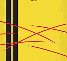 No049 My Kill Bill - part 2 minimal movie poster by JinYong