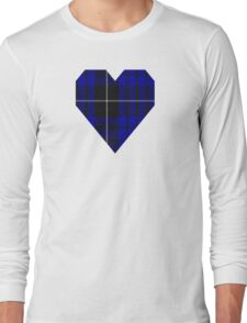 00425 Brian Swan Tartan  Long Sleeve T-Shirt