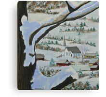 East Orange Vermont Canvas Print