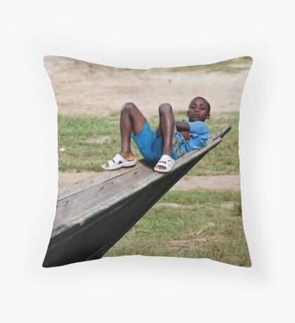 Uganda Throw Pillow