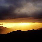 Sunset in Sierra Nevada by Shienna