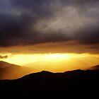 Sunset in Sierra Nevada by Shienna