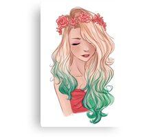 Rose Crown Canvas Print