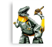 Transformers: Grimlock And Wheelie Canvas Print