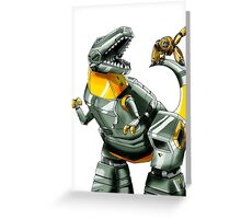 Transformers: Grimlock And Wheelie Greeting Card