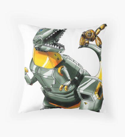 Transformers: Grimlock And Wheelie Throw Pillow