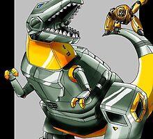 Transformers: Grimlock And Wheelie 2 by Caroline Smalley