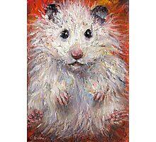 Impressionistic Hamster animal painting Svetlana Novikova Photographic Print