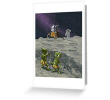 moon catapult Greeting Card