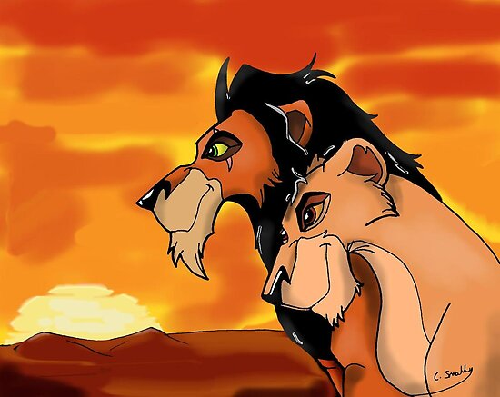 The Lion King: Scar And Zira by Qutone