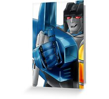 Transformers: Thundercracker Greeting Card