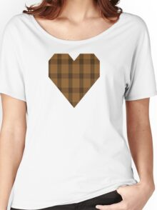00426 Unnamed Brown (Teddy Bear) Women's Relaxed Fit T-Shirt
