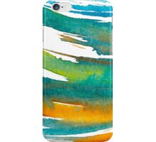 Abstract Watercolor Brush iPhone Case/Skin