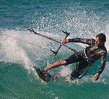 Tarifa Kiting by AJM Wind+Kite