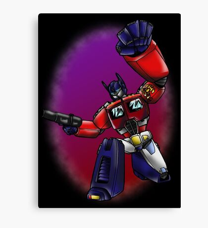 Transformers: Optimus Prime Canvas Print