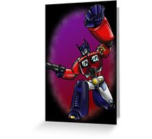 Transformers: Optimus Prime Greeting Card