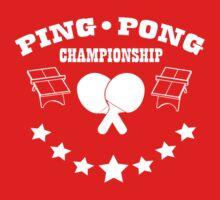 ping pong by ThunderArtwork