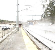 Snow Acela by Eric Sanford