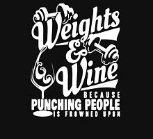 Weight And Wine Tshirt T-Shirt