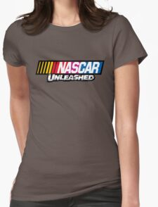 nascar unleashed shirt Womens Fitted T-Shirt