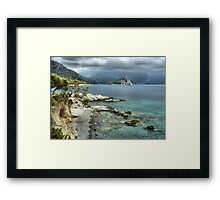 Aquarium Bay Turkey  Framed Print