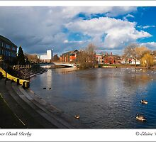 River side in Derby Center by Elaine123