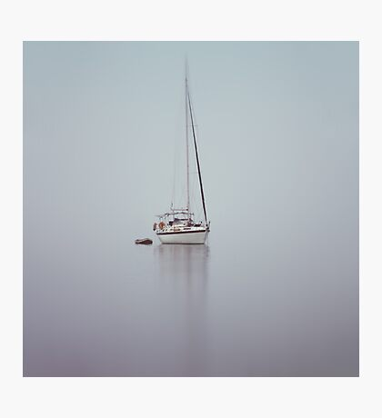 misty weather Photographic Print