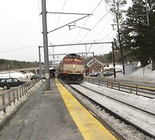 1057 MBTA Commuter Rail by Eric Sanford