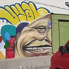 Wall Art in the PARKing Lot by DAdeSimone