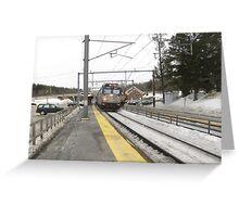 927 Amtrak Regional Greeting Card