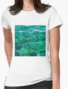 tranquility Womens Fitted T-Shirt